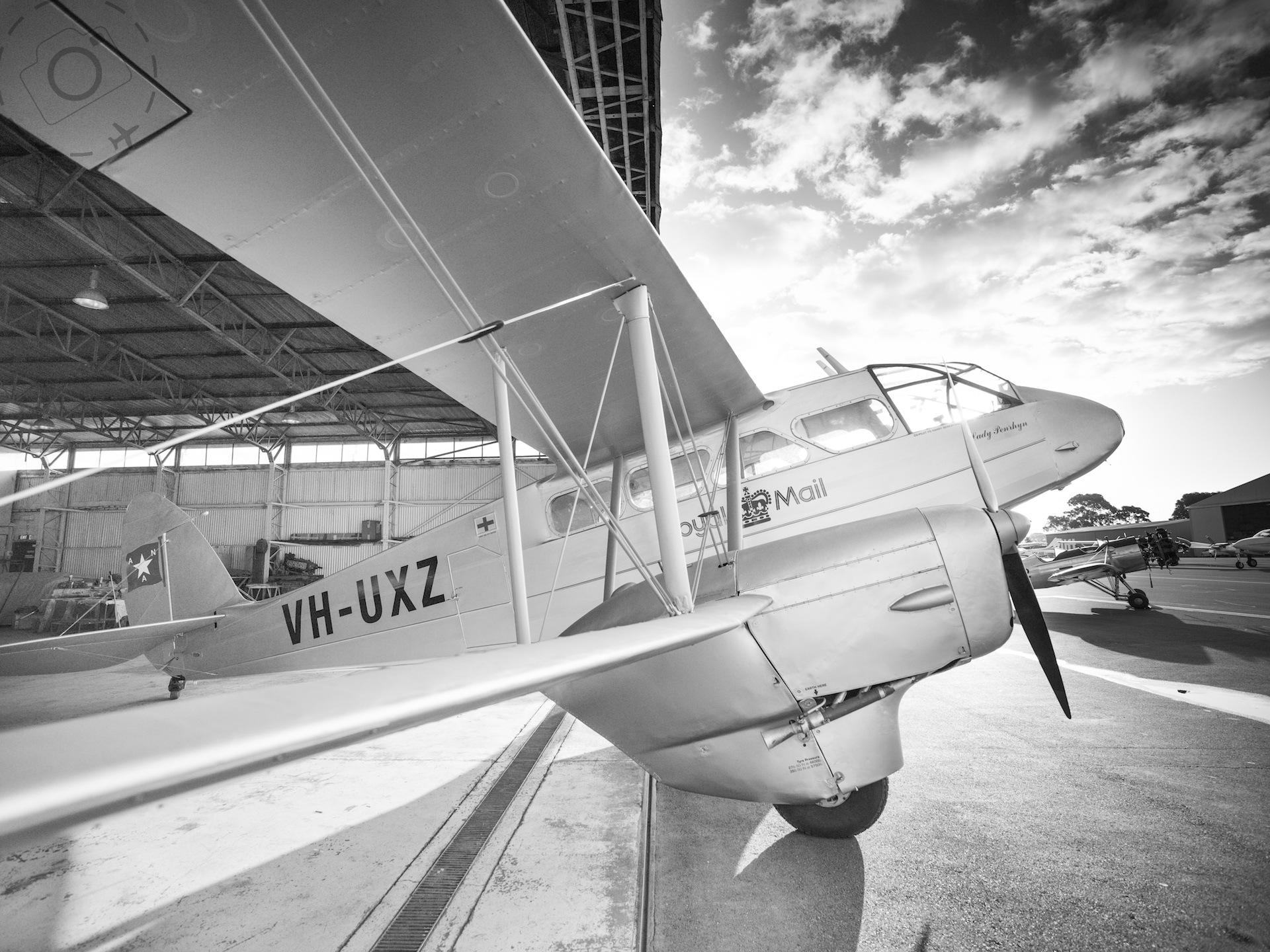 Photographers on a Plane