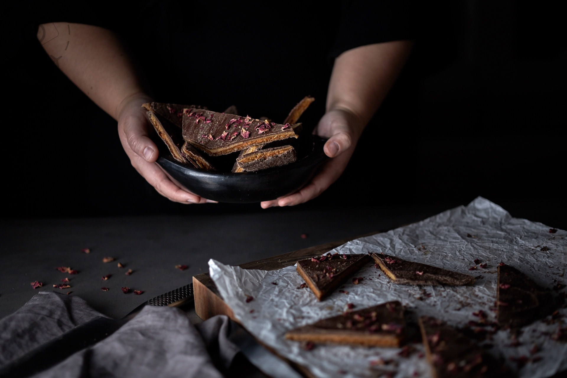 Dark and Moody Food Photography