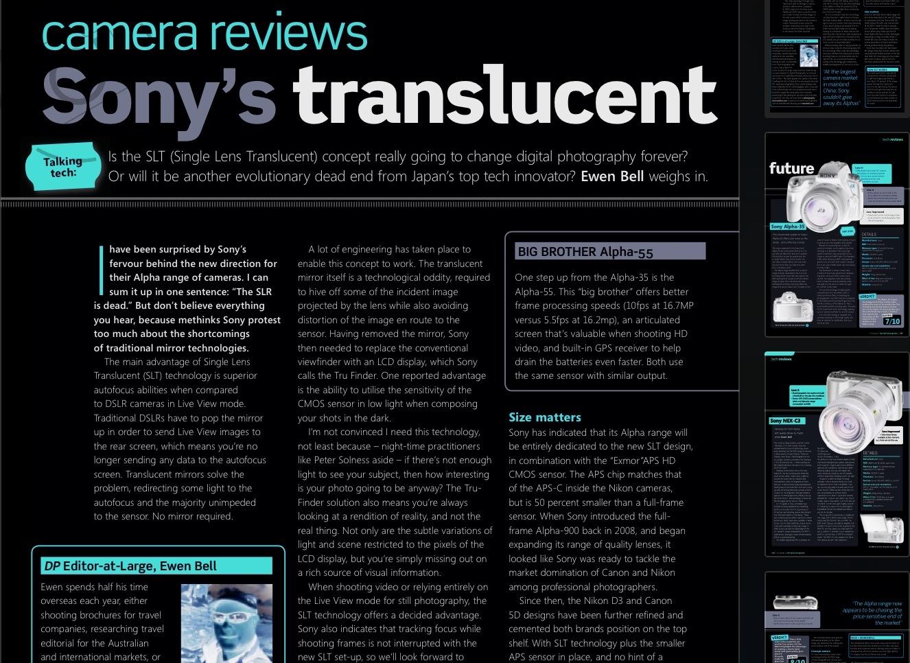 Sonys Translucent Future