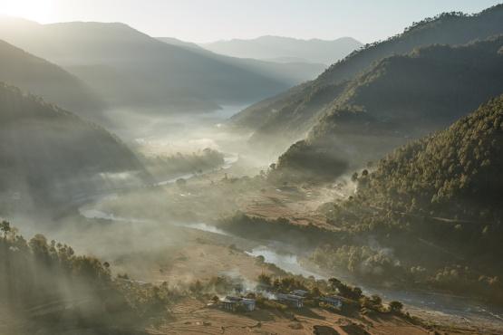 Punakha Sunrise