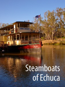 Steamboats on the Murray / Victoria
